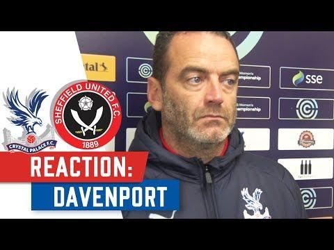 REACTION | Davenport post Sheffield Defeat