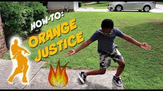 How to Orange Justice | Dance TUTORIAL