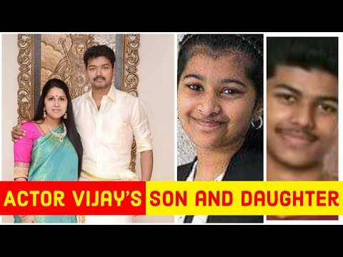 Actor Vijay's Son and Daughter Gallery | Jason Sanjay