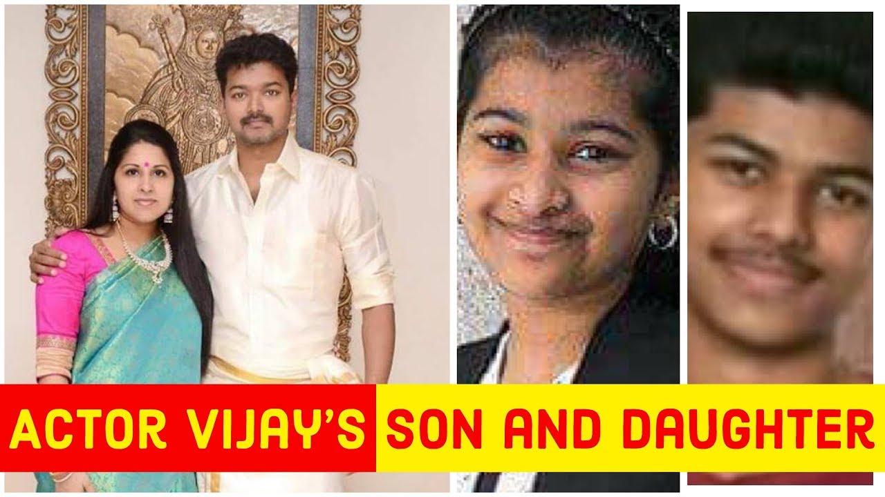 Actor Vijay's Son and Daughter Gallery | Jason Sanjay | Divya Shasha