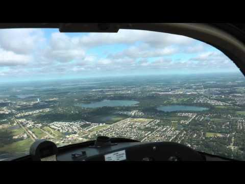 TG-7A motorglider flight near Grayslake, IL