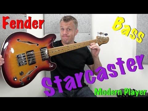 Fender Modern Player Starcaster Bass Guitar Review