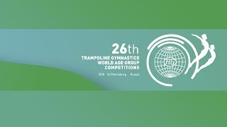 18.11.2018, Qualifications, Stream 2, Trampoline World Age Group Competitions 2018