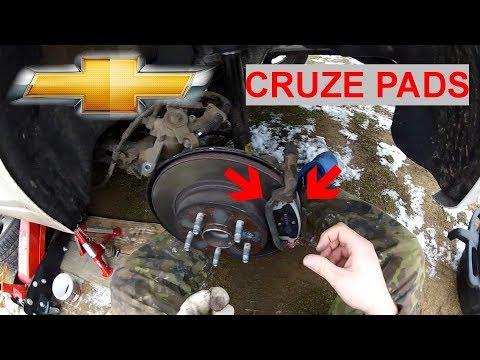 2014 2015 2016 For Chevrolet Cruze Rear Ceramic Brake Pads