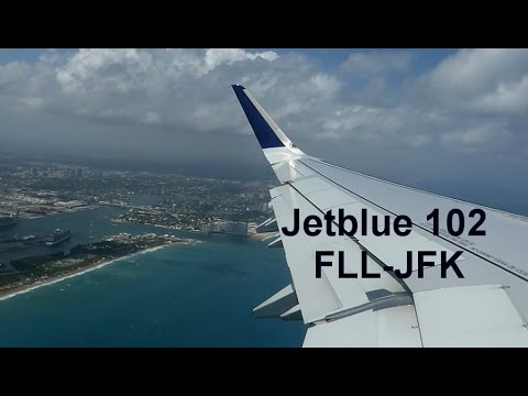 Jetblue 102 | Ft. Lauderdale to New York City