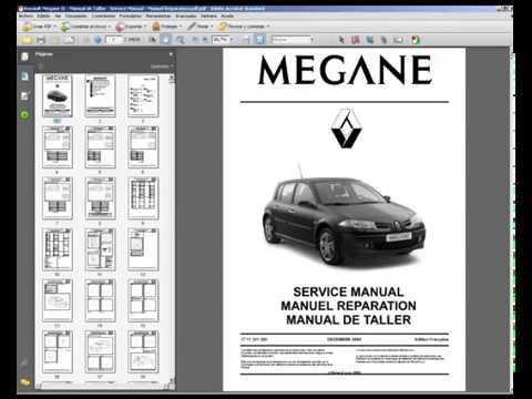 renault megane ii manual de taller service manual manuel rh youtube com renault scenic ii manual usuario renault scenic ii manual usuario