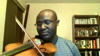 Desert Song - Hillsong Violin Cover