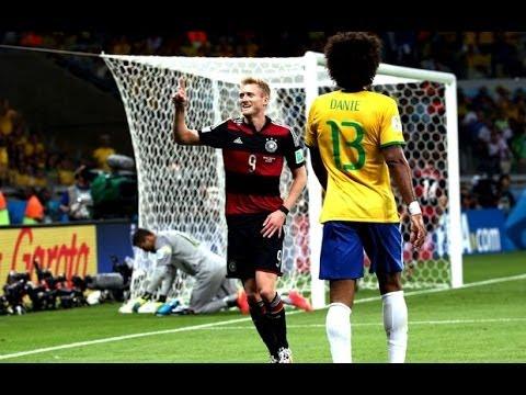 Brasil 1 X 7 Alemanha - Copa do Mundo 2014 - YouTube d63e991b84289