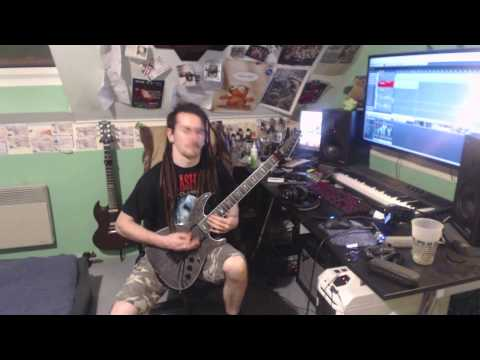 Chimaira Bloodlust Guitar Cover