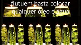 Decorando com velas por Flavia Renata