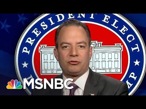 Reince Priebus On Rex Tillerson, John Bolton And CIA Russia Report | Morning Joe | MSNBC