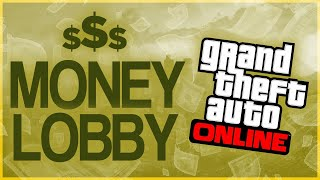 LIVE | FREE GTA 5 ONLINE MONEY DROP LOBBY / PC PS4 XBOX