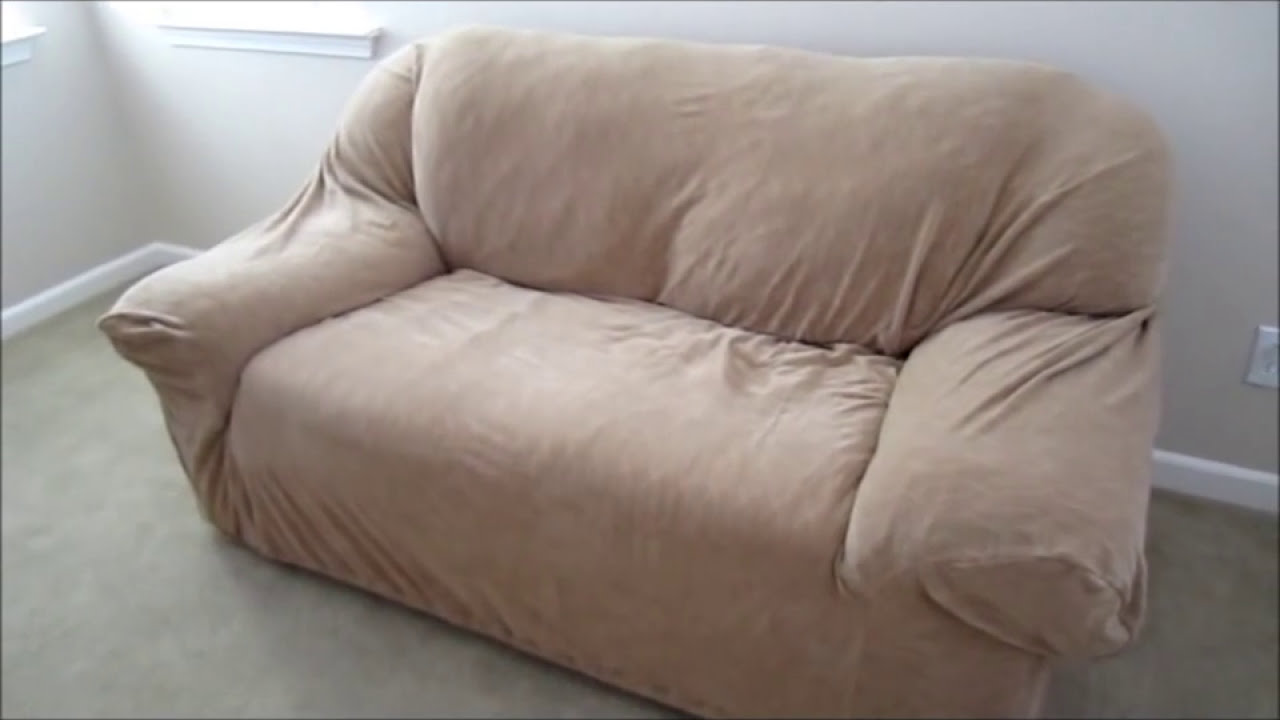 Review Surefit furniture cover and give your sofa or loveseat a