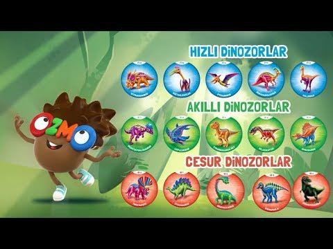 Ozmo Cornet Çılgın Kapaklardaki Dinozorları Tanıyalım