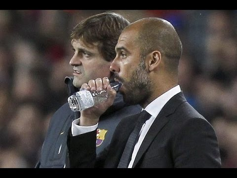 TITO Vilanova & Pep Guardiola - Funny Moments & FriendShips