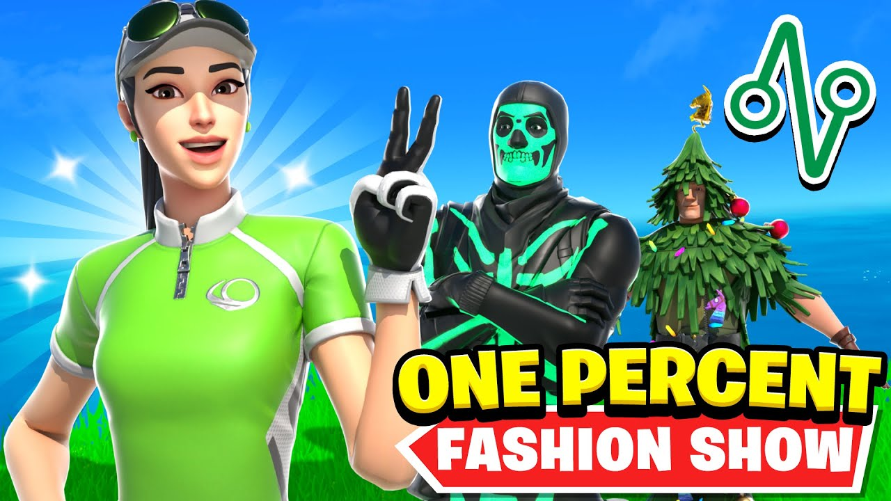 Download I Hosted A ONE PERCENT Fashion Show on Fortnite..