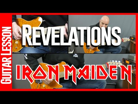 Revelations By Iron Maiden - Guitar Lesson Tutorial