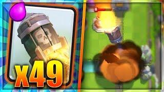 CAN 49 ROCKETS DESTROY THE BRIDGE In Clash Royale!?!?