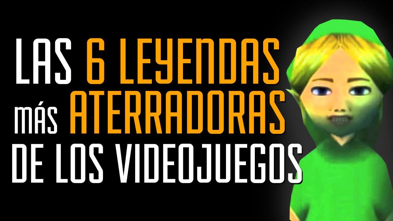 Las 6 leyendas urbanas MÁS ATERRADORAS de los videojuegos!