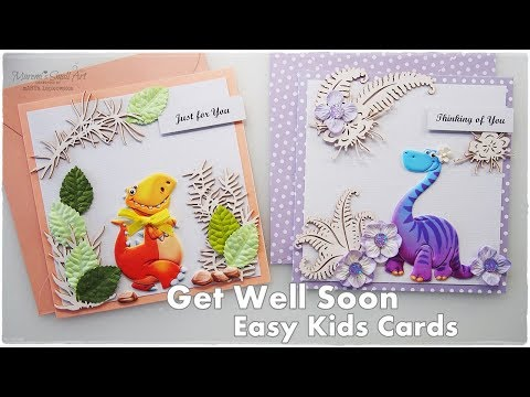 Easy & Fast Kids Cards Get Well Soon ♡ Maremi's Small Art ♡