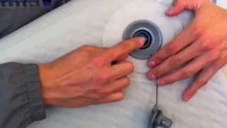 newport vessels inflatable boat valve repair air leak repair instructions