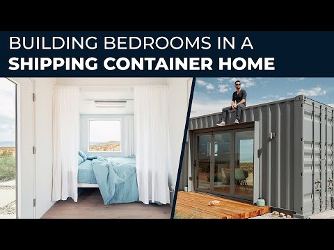 How to Build a Shipping Container Home | EP09 Building the Bedrooms