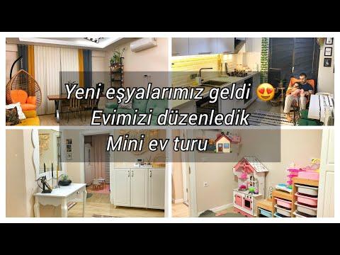 Evimizin son düzeni 😍 Çiçeklik raf geldi odamız tamamlandı 🌸 Beğendiniz mi? ❤️