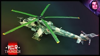 Helicopters in War Thunder || Mi-35 Gameplay (War Thunder Helicopters)