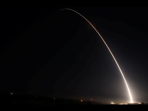 US Air Force shows readiness with missile launch
