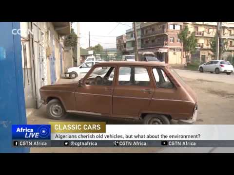 Algerians cherish old vehicles, but what about the environment