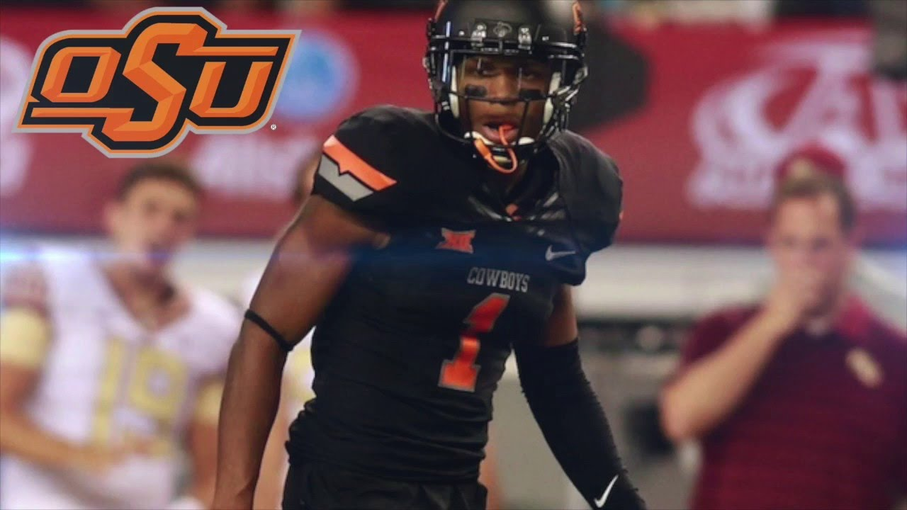 hot sale online 84859 faa88 Kevin Peterson || Official Oklahoma State Highlights
