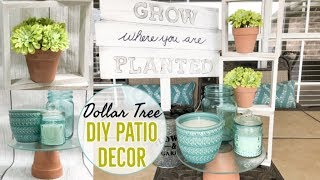 Spring Decor Diy | Porch Decor | Dollar Tree