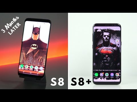 Galaxy S8 & S8+ 3 Months Later + Surprise!!!