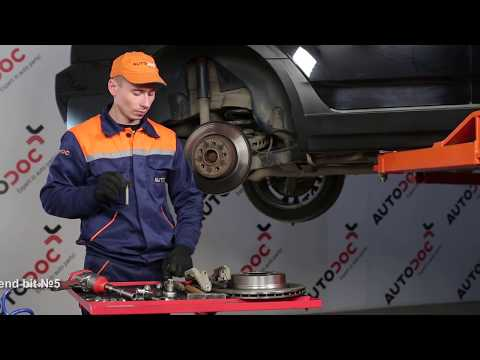 How to replace rear brake discs and rear brake pads on BMW X3 E83 TUTORIAL   AUTODOC