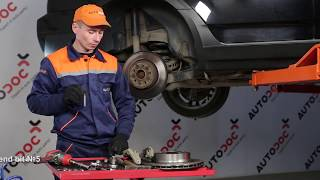 How to replace Brake pad set on BMW X3 (E83) - video tutorial