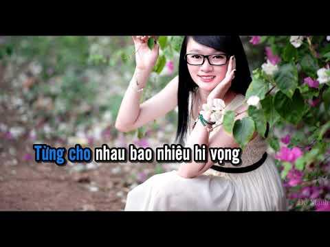 [Karaoke] Từng Cho Nhau - Tone Nam -1 - Yong Bao Ni Li Qu