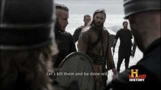 Vikings (2013) History Channel Series - First beach battle (Full HD)