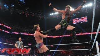 Rob Van Dam vs. Chris Jericho: Raw, July 15, 2013