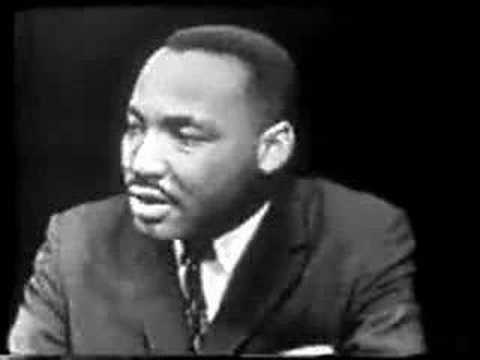 first interview with Martin Luther King from 1957 part 1
