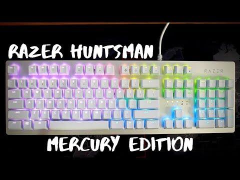 Razer Huntsman Keyboard Mercury Edition - Review