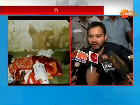 VIDEO: Tejashwi said on hunger death in Buxar- the government was unable to remove poverty