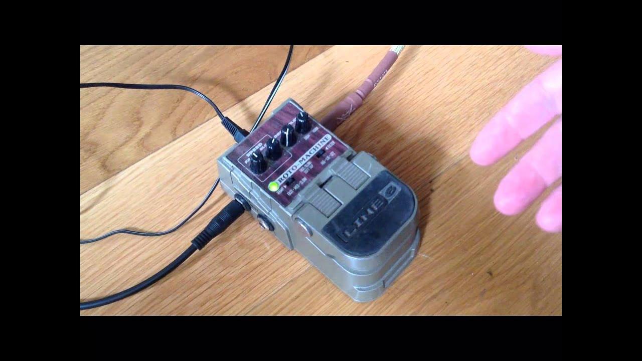 line 6 roto machine leslie simulator pedal for sale youtube. Black Bedroom Furniture Sets. Home Design Ideas