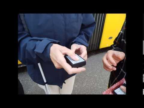 Tipps zur Nutzung vom Bus in Dresden für blinde und sehbehinderte Fahrgäste