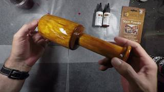 Made Yellow Stain To Color Wood Yellow With Dye Kit To Make One Of Many Yellow Stain Color Versions