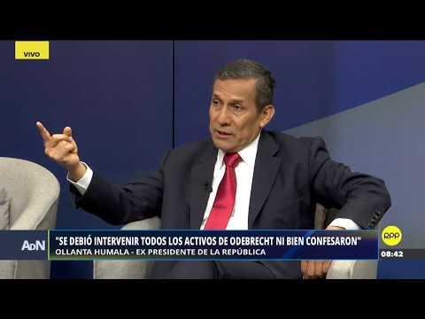 "ADN | Expresidente Ollanta Humala ""No les bastó con una prisión preventiva abusiva"""