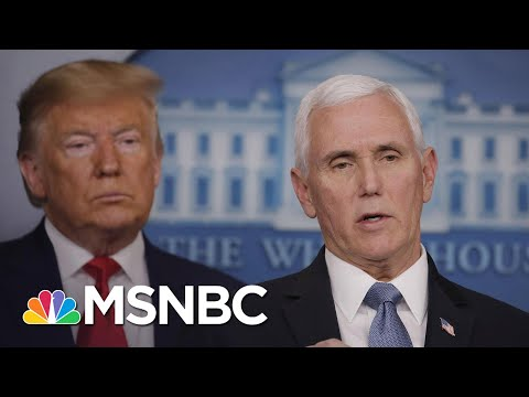 Pence Announces 'Additional Travel Restrictions On Iran' Amid Coronavirus Outbreak | MSNBC