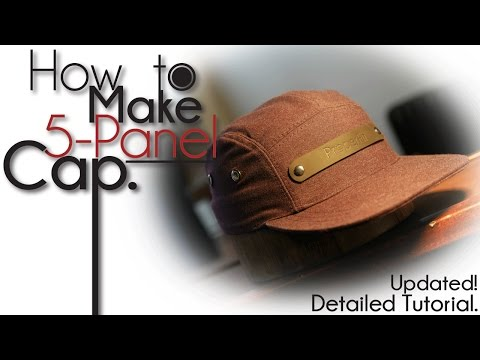 How To Make 5-Panel Camp Hat