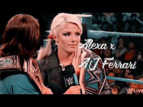 Alexa Bliss x Aj Styles Ferrari