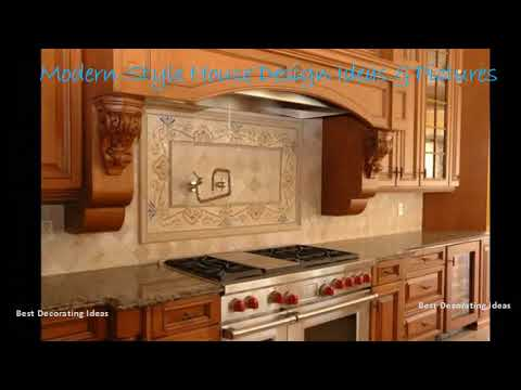 Backsplash designs ideas kitchen | Modern Style Kitchen decor Design Ideas & Picture