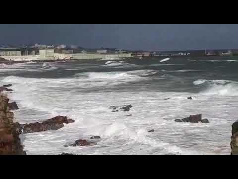 El temporal ya azota A Mariña